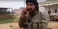 Esir alınan askerin telefonunu Muhalifler açtı