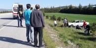 Eskişehir'de otomobil şarampole uçtu: 2 yaralı