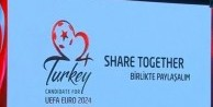 EURO 2024 için Türkiye'nin logo ve sloganı