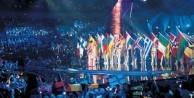 Eurovision'da büyük skandal! KKTC ve Filistin bayrağı...