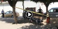 Evsiz adam bankta ölü bulundu