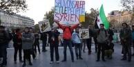 Fransa'da Halep protestosu