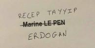 Fransa'daki seçimlerden Erdoğan çıktı!
