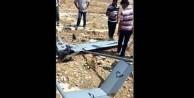 Gaziantep'te ABD İHA'sı düştü