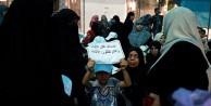 Gazzeli yetimlerden eylem