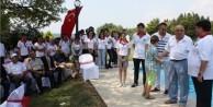 Gelibolu'daki 85 dönüm arsayı Mehmetçik Vakfı'na bağışladı