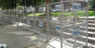 Gezi Parkı'nın etrafı kapatıldı