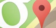 Google Maps'te yol tarifi alınabilecek