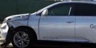 Google'ın sürücüsüz otomobilinden inanılmaz kaza!