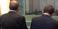 Günün fotoğrafı Erdoğan ve Davutoğlu'ndan