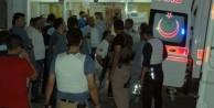 Hastane önünde hain saldırı: 2 polis yaralı