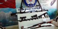 Hatay'da silah kaçakçılarına operasyon
