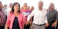 HDP'den, saldırıya uğrayan CHP'li adaya ziyaret
