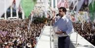 HDP'nin ilk mitingi Başbakan'ın programına takıldı