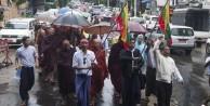 Budistler, Müslümanlara karşı yürüdü