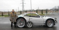 Hurda Mercedesten lüks otomobil yaptı - FOTO