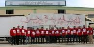 İHH'dan 'Halep Yanıyor' eylemi