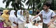 İHH'dan Rohingyalı Müslümanlara yardım