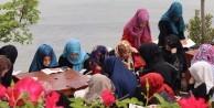 İmam Hatip okulu öğrencileri kampta