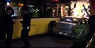 İstanbul'da faciadan dönüldü! İETT otobüsü...