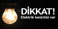 İstanbullular dikkat! 12 ilçede elektrik kesintisi