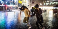 İstanbul'u sağanak yağış vurdu!