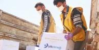 İyilik Derneği'nden İdlib'e 7 tır yardım