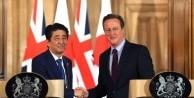Japonya Başbakanı Shinzo Abe, İngiliz Mevkidaşı Cameron'la görüştü