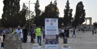 Kağıthane'den Kudüs'e Kardeşlik Sofrası kuruldu