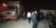 Kamyon kasasında 200 sığınmacı yakalandı