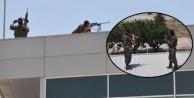 Keskin nişancılar Konya jet üssünde 'kuş uçurtmuyor'