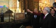 Kılıçdaroğlu'ndan Türbe ziyaretİ