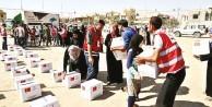 Kızılay'dan Yemen'e 2 bin gıda kolisi