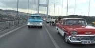 Klasik otomobillerle 'Zafer Konvoyu'