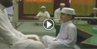 Küçük çocuktan mest eden Kur'an tilaveti