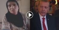 Kürt teyzenin 'Erdoğan' duası