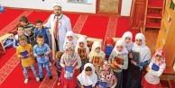 Makedon çocuklar Kur'an öğreniyor