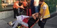 Marmaray'da bomba paniği, yaralılar var