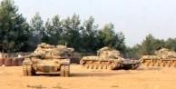 Mayınların temizlendiği bölgelere tanklar gönderildi