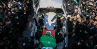 Mazin Fukaha Gazze'de böyle uğurlandı
