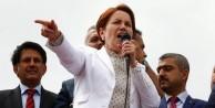 Akşener 'Başbuğ Meral' sloganına tepki gösterdi