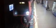 İstanbul'da korkunç olay! Metronun önüne...