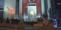 MHP Genel Merkezi önünde dikkat çeken görüntü!