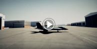 Milli muharip uçağının tanıtım videosu yayınlandı