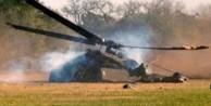 Mısır helikopteri düştü