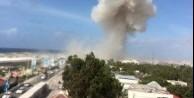 Mogadişu'da şiddetli patlama