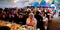 Moskova'da Ramazan çadırı