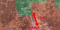 Muhalifler Hama'da ilerliyor