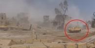Muhalifler Rus tankını böyle havaya uçurdu!