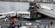 Almanya'da tren kazası, ölü ve yararlılar var